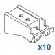 Long universal bracket (Pack of 10)