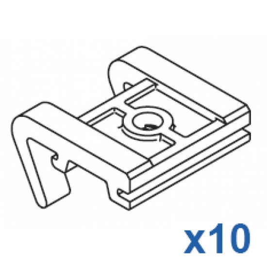 Top fix bracket (Pack of 10)