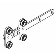 Metal Straight overlap arm