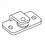 Side pulley guide (Obsolete)