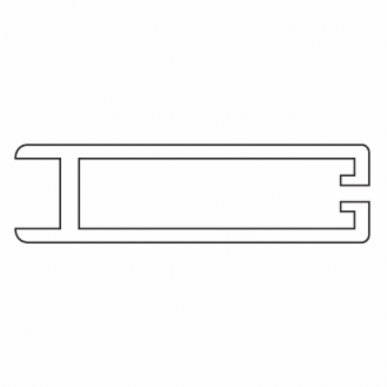 Side Profile (used with 4511 profile)  (per Metre)  (Discontinued)