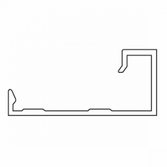 Side Profile (used with 4514 profile)  (per Metre)  (Discontinued)