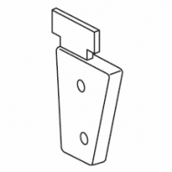 Right inside recess bracket (for 4502)  (Discontinued)