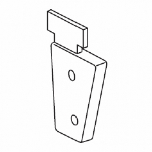 Right inside recess bracket (for 4503)  (Discontinued)