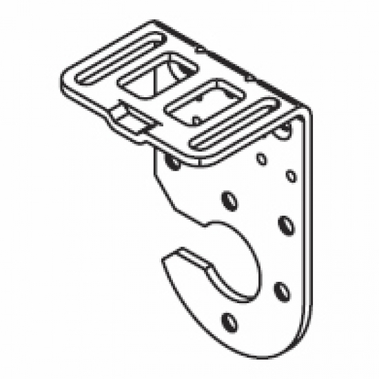 Connection bracket double system