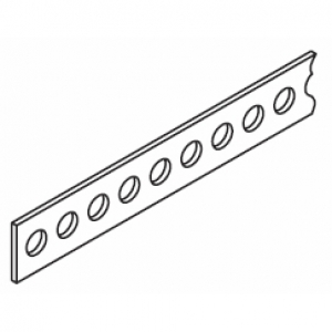 Drive belt Black Plastic (per metre) (Obsolete)