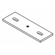 2 hole fixing plate