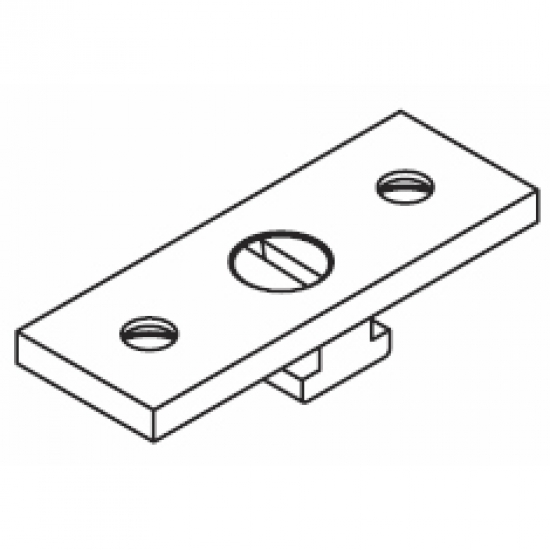 Ceiling fix plate Double (Type 2) (Each)
