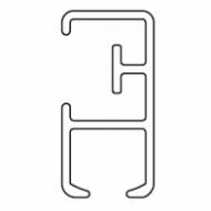 Profile for 6380 system (Per metre)