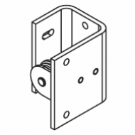 Pulley Bracket wall Left/Right