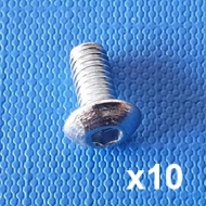 Machine screw M4 x 8mm (Pack of 10)