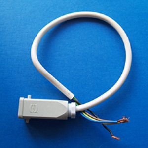 Motor Lead open wires one end 50cm lead  (SECOND HAND)  60 Day Warranty