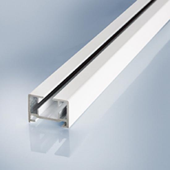 Rail ONLY White (per metre)