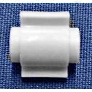 White Sleeve (for Plastic Bead chain)  (Discontinued)