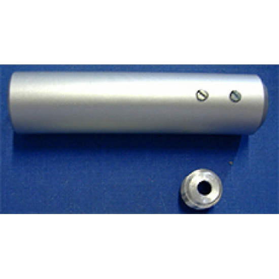 Ceiling support (Sleeve) (For use with cubical rails)