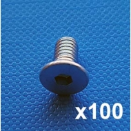 Machine screw M4X8 (Pack of 100)