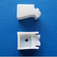 Universal nylon bracket (standard) in white OLD STYLE (pack of 10)