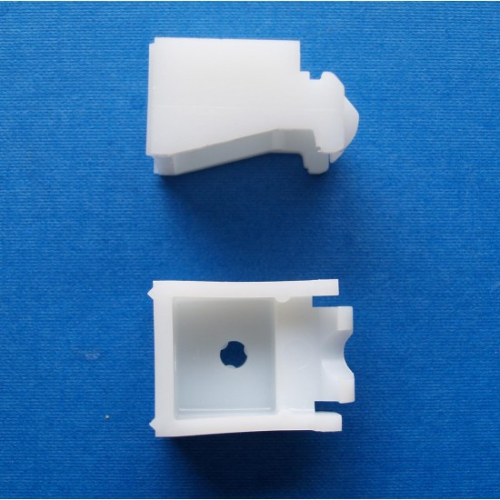 Universal nylon bracket (standard) in white OLD STYLE (pack of 100)