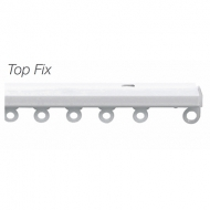 380cm Discreet Top Fix rail only