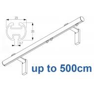 1003M 23mm Metropole Silver, White, Matt White, Ecru  up to 500cm complete