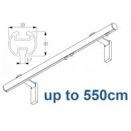 1003M 23mm Metropole Silver, White, Matt White, Ecru  up to 550cm complete