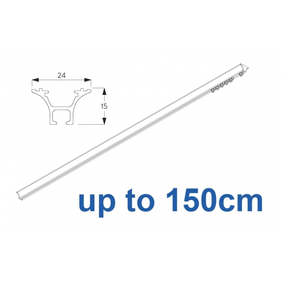 1020 Hand operated (White only) up to 150cm Complete