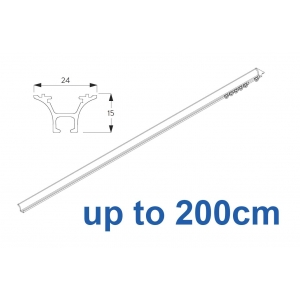 1020 Hand operated (White only) up to 200cm Complete