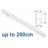 1021 in  White, 200cm Complete