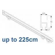 1021 in  White, 225cm Complete