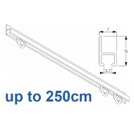 1021 in  White, 250cm Complete