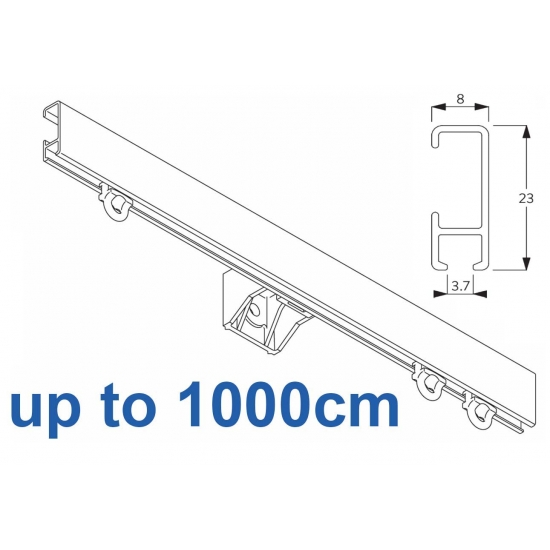 1080 Silver or White 1000cm Complete