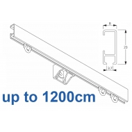1080 Silver or White , up to 1200cm Complete