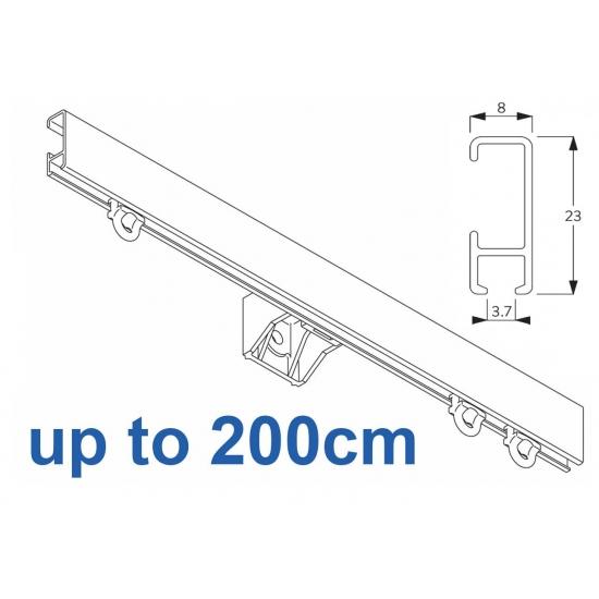 1080 Silver or White 200cm Complete