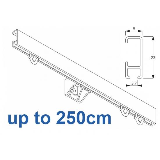 1080 Silver or White 250cm Complete