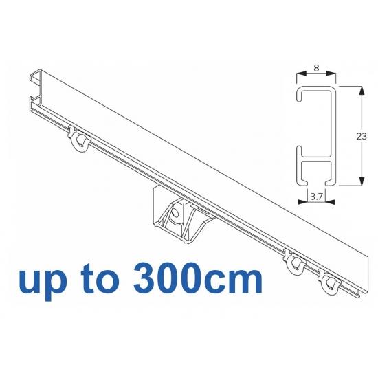 1080 Silver or White 300cm Complete
