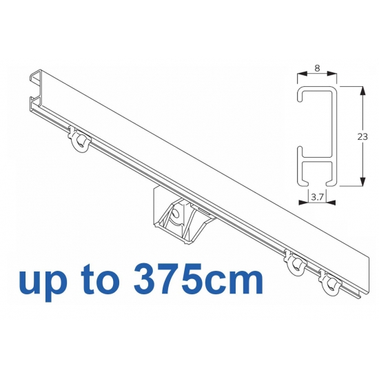 1080 Silver or White 375cm Complete