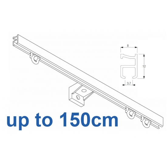 1090 Silver or White, up to 150cm Complete