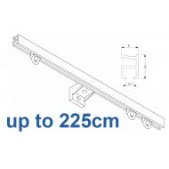 1090 Silver or White 225cm Complete