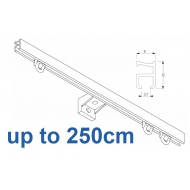 1090 Silver or White 250cm Complete