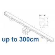 1090 Silver or White 300cm Complete