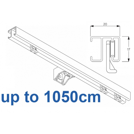 1280 White up to 1050cm Complete