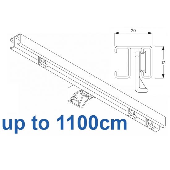 1280 White up to 1100cm Complete