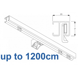 1280 White up to 1200cm Complete
