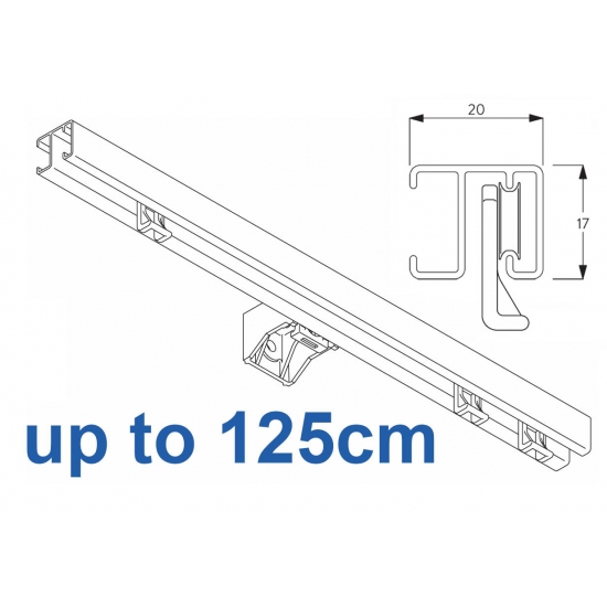 1280 White up to 125cm Complete
