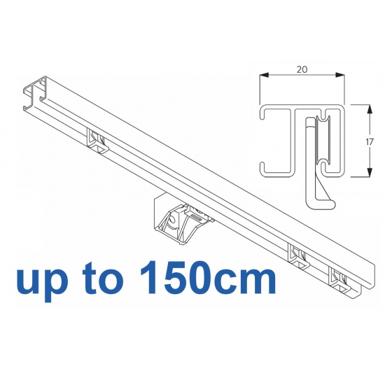1280 White up to 150cm Complete