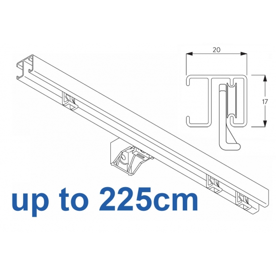 1280 White up to 225cm Complete