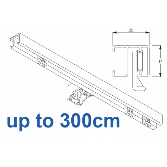 1280 White up to 300cm Complete