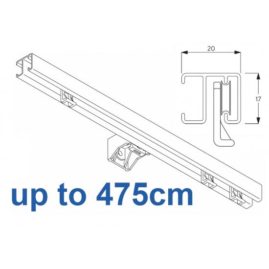 1280 White up to 475cm Complete