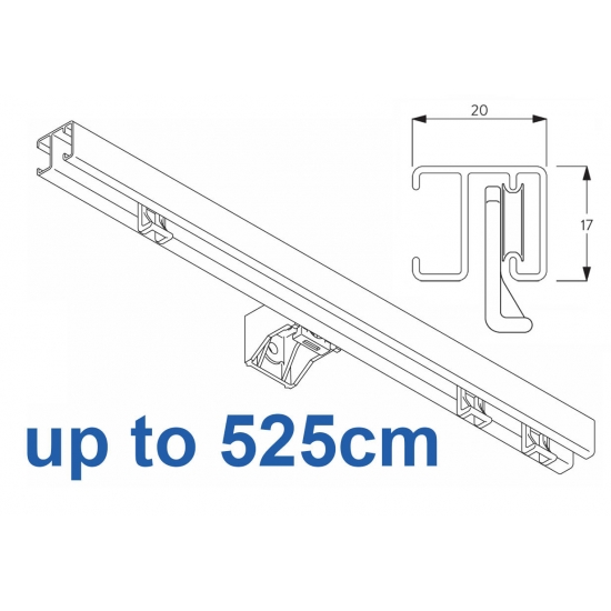 1280 White up to 525cm Complete
