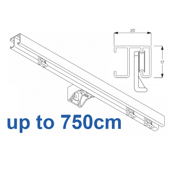 1280 White up to 750cm Complete
